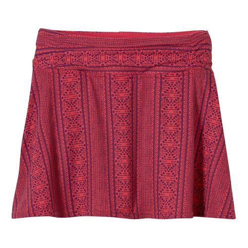 Womens Prana Keely Skorts Shorts - Fuchsia Lace S