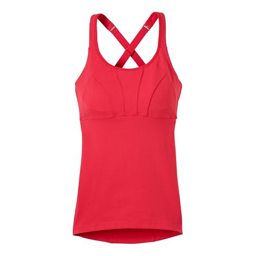 Womens prAna Willa Sleeveless & Tank Tops Technical Tops - Azalea XS