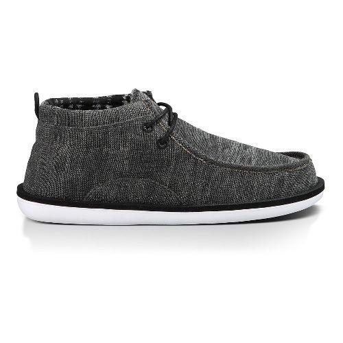 Mens Sanuk Walla Casual Shoe - Black 13