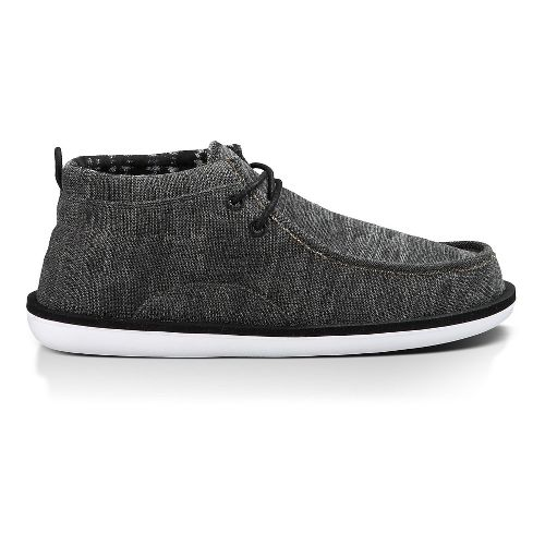 Mens Sanuk Walla Casual Shoe - Black 9