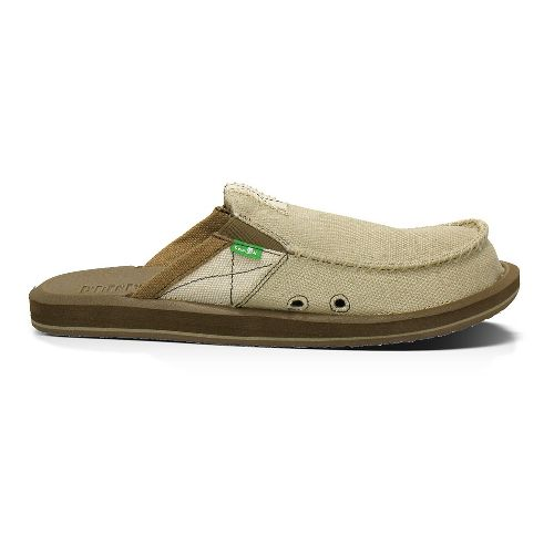 Mens Sanuk You Got My Back B and T Casual Shoe - Tan 18