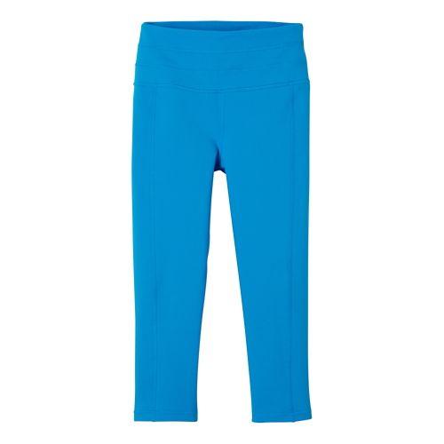 Womens Prana Contour Knicker Capris Pants - Electro Blue XL