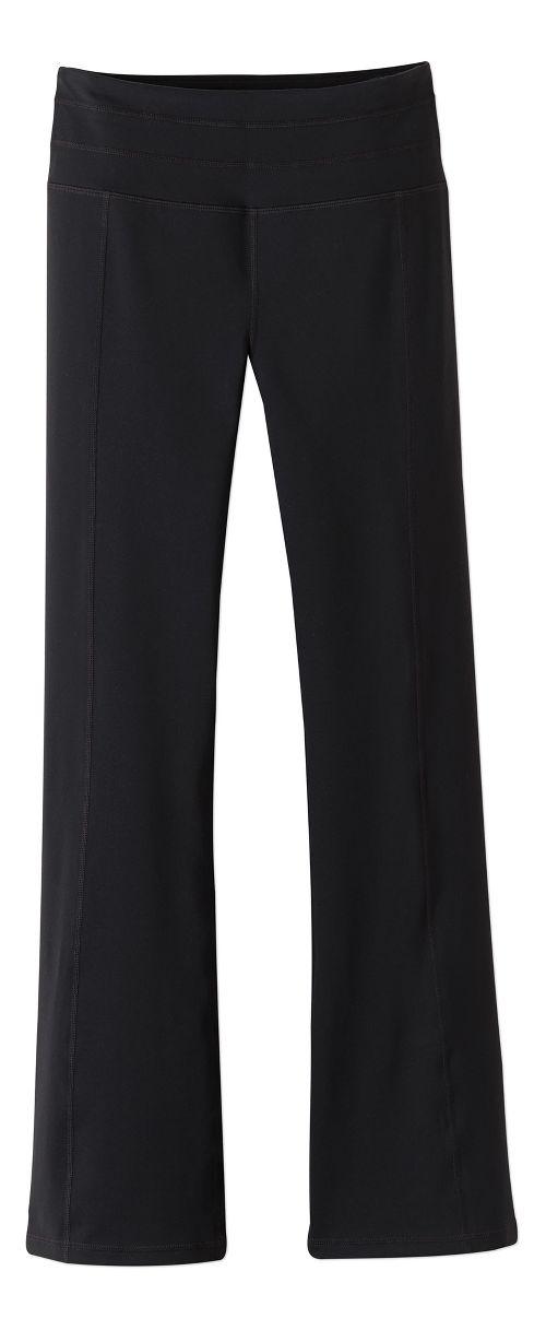 Womens Prana Contour Pants - Black M-T