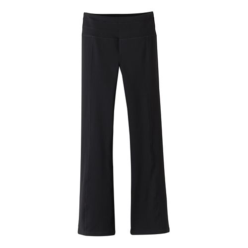 Womens Prana Contour Pants - Black XS