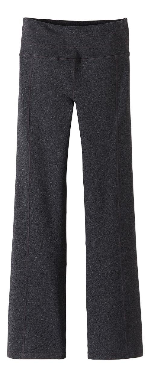 Womens Prana Contour Pants - Charcoal Heather M-T