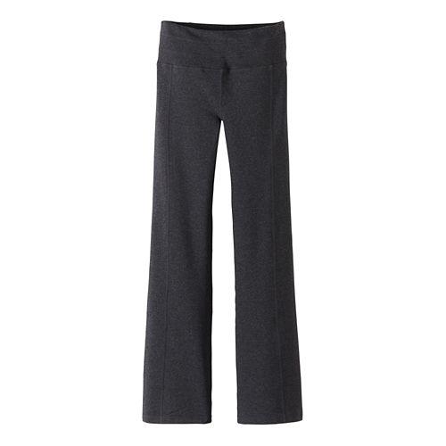Womens Prana Contour Pants - Charcoal Heather XS-T