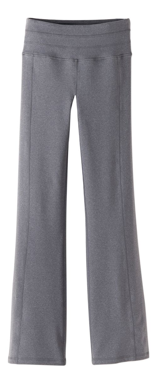 Womens Prana Contour Pants - Heather Grey S-T