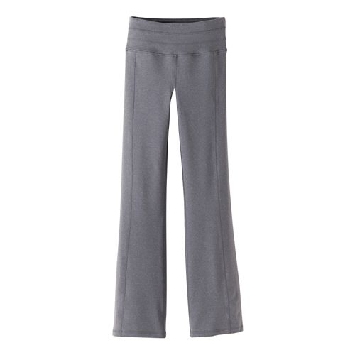 Womens Prana Contour Pants - Heather Grey M-S