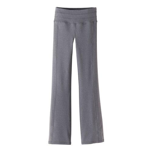 Womens Prana Contour Pants - Heather Grey S-T