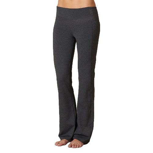 Womens Prana Britta Pants - Charcoal Heather LT