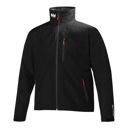 Mens Helly Hansen Crew Cold Weather Jackets - Black L