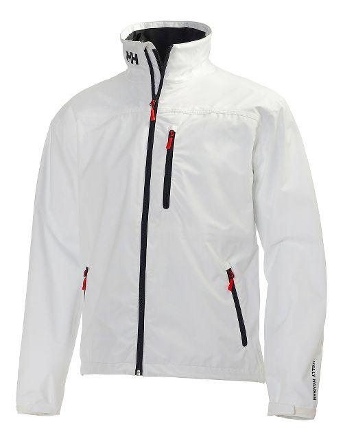 Mens Helly Hansen Crew Cold Weather Jackets - White XXL
