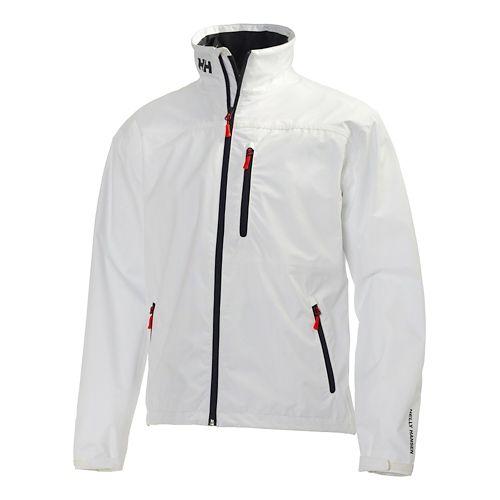 Mens Helly Hansen Crew Cold Weather Jackets - White M