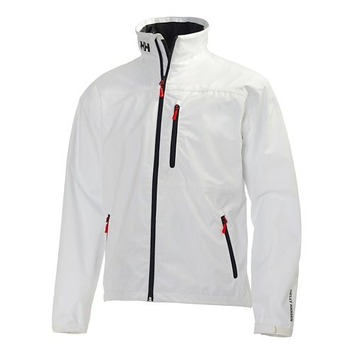 Mens Helly Hansen Crew Cold Weather Jackets - White XXL