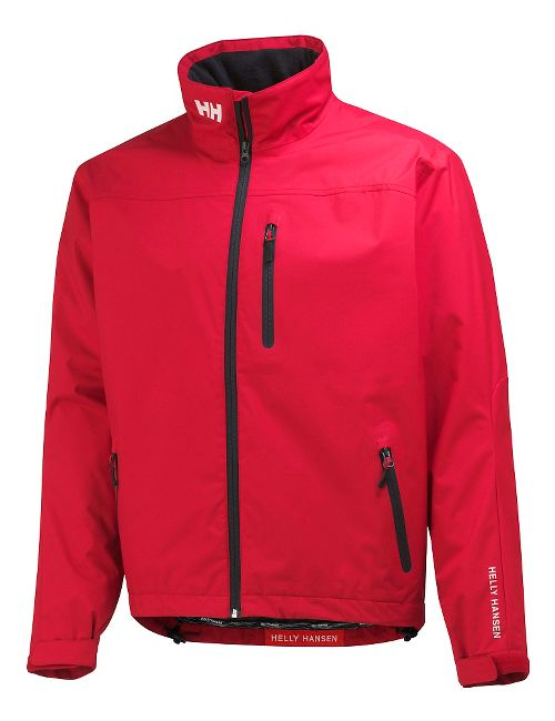 Mens Helly Hansen Crew Cold Weather Jackets - Red XXL