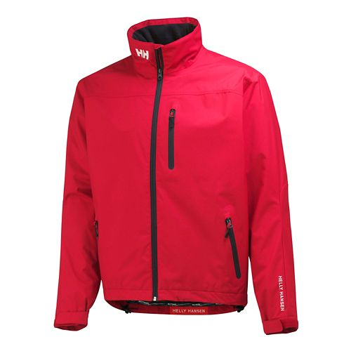 Mens Helly Hansen Crew Cold Weather Jackets - Red L