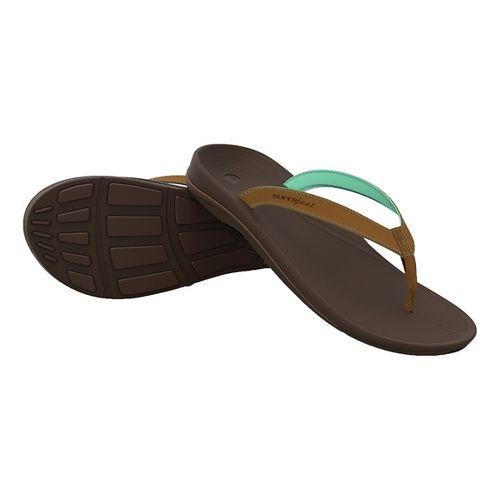 Womens Superfeet Outside Sandals Shoe - Bermuda 9