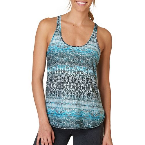 Womens Prana Medley Sleeveless & Tank Tops Technical Tops - Luminescence M