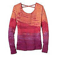 Womens Prana Deelite Pullover Long Sleeve Technical Tops