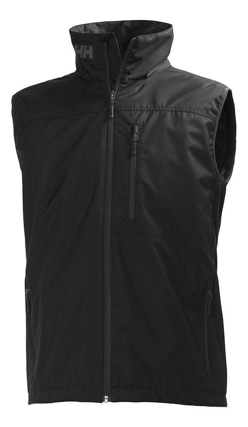 Mens Helly Hansen Crew Vests Jackets - Black S