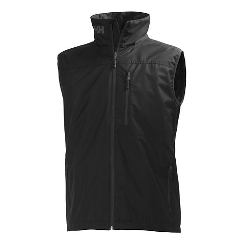 Mens Helly Hansen Crew Vests Jackets - Black S