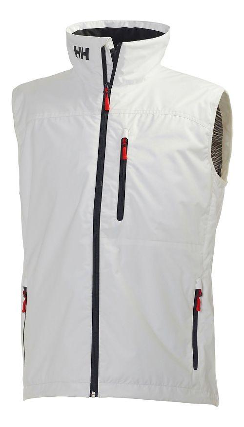 Mens Helly Hansen Crew Vests Jackets - White XXL