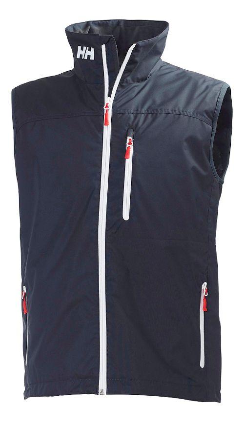 Mens Helly Hansen Crew Vests Jackets - Navy M