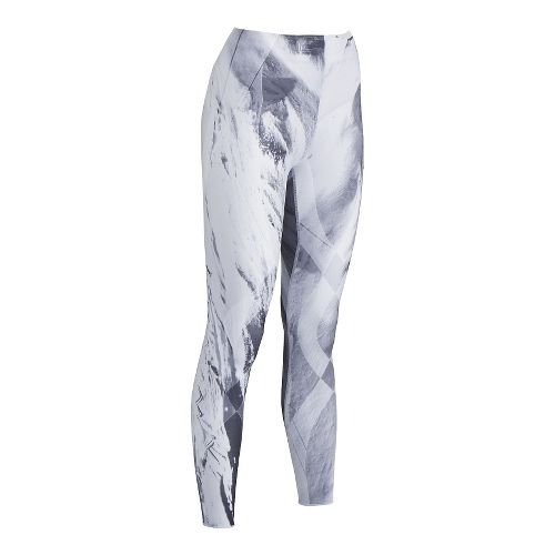 Womens CW-X Generator Revolution Tights & Leggings - Light Grey S