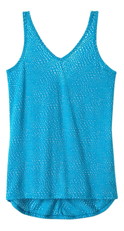 Womens Prana Abbie Sleeveless & Tank Tops Technical Tops - Cove S