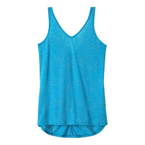 Womens Prana Abbie Sleeveless & Tank Tops Technical Tops - Cove XS