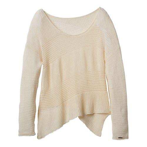Womens Prana Liana Sweater Long Sleeve Non-Technical Tops - Winter XL
