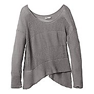 Womens Prana Liana Sweater Long Sleeve Non-Technical Tops