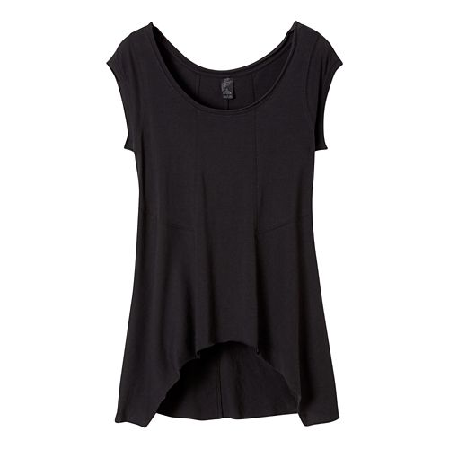 Womens Prana Lauriel Sleeveless & Tank Non-Technical Tops - Black XS