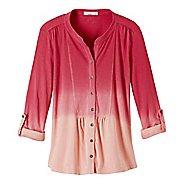 Womens Prana Amber Shirt Long Sleeve Non-Technical Tops