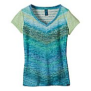 Womens Prana Hillary Short Sleeve Non-Technical Tops