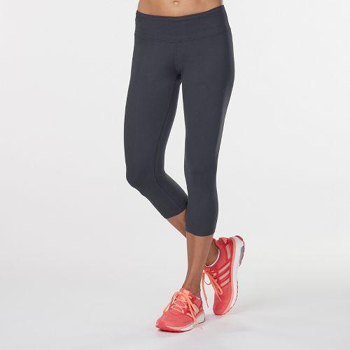 Womens R-Gear Leg Up Crop Legging Capris Tights - Black S