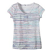 Womens Prana Garland Tee Short Sleeve Non-Technical Tops