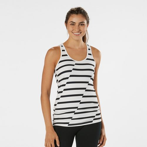 Womens R-Gear Revive Printed Racerback Sleeveless & Tank Technical Tops - Black/White S