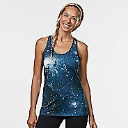 Womens R-Gear Revive Printed Racerback Sleeveless & Tank Technical Tops - Teal Night Galaxy M