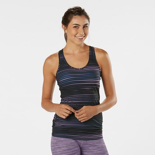 Womens R-Gear Revive Printed Racerback Sleeveless & Tank Technical Tops - Vivid Orchid Stripe ...