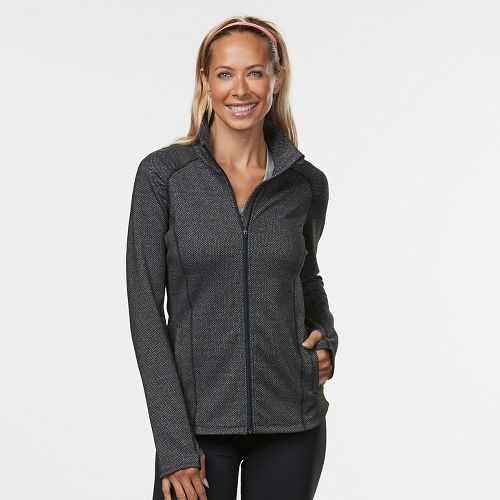 Womens R-Gear Set the Stage Casual Jackets - Black Jacquard L