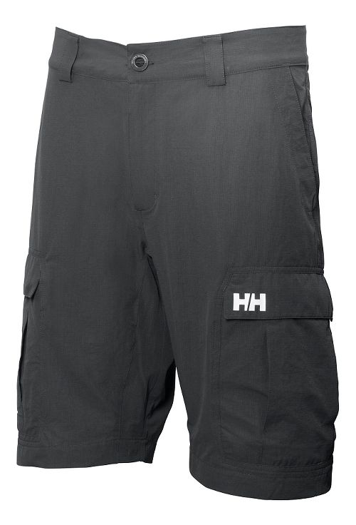 Mens Helly Hansen GQ Cargo 11 Unlined Shorts - Ebony 28