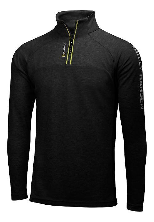 Mens Helly Hansen HP 1/2 Zip Pullover Half-Zips & Hoodies Technical Tops - Black S