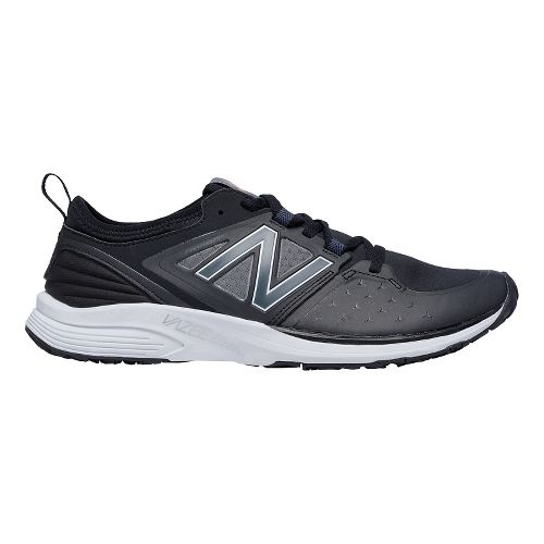 Mens New Balance Vazee Quick Cross Training Shoe - Black/White 13