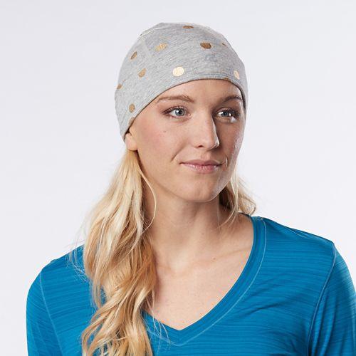 Womens R-Gear Set the Stage Reversible Beanie Headwear - Heather Chrome/Marina S/M