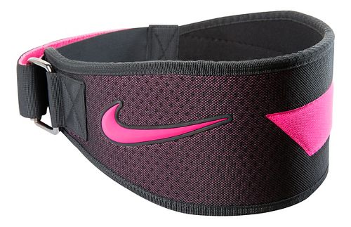 Womens Nike Intensity Training Belt Fitness Equipment - Black/Hyper Pink L