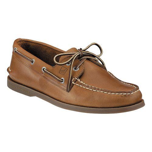 Mens Sperry Authentic Original 2-Eye Casual Shoe - Sahara 8.5