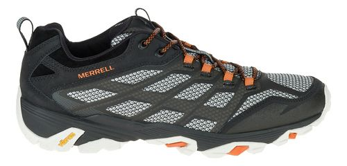 Mens Merrell Moab FST Hiking Shoe - Black 10.5