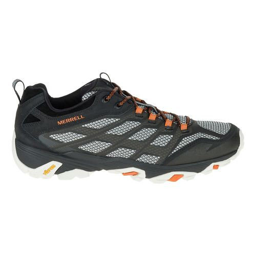 Mens Merrell Moab FST Hiking Shoe - Black 11.5