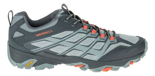 Mens Merrell Moab FST Hiking Shoe - Grey/Orange 9